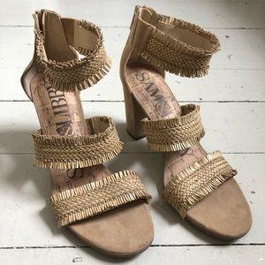 Pick 3/$35 SAM & LIBBY straw heels